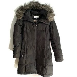Calvin Klein long down puffer coat